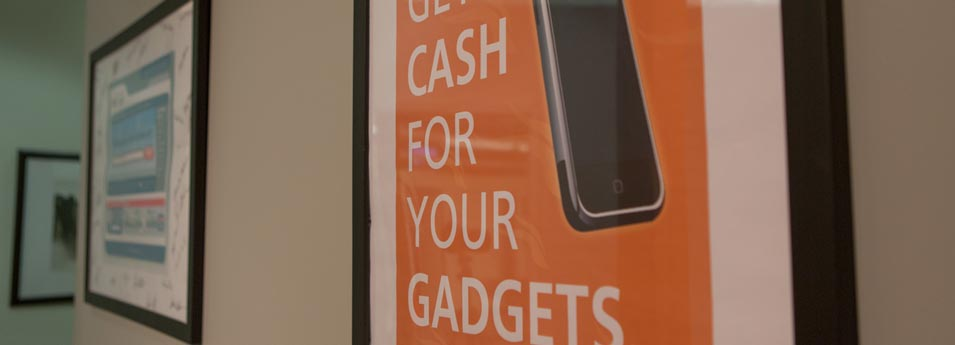 cash for gadgets poster