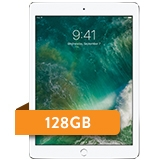 "iPad 5th generation 9.7"" 128GB WiFi + 4G LTE AT&T"